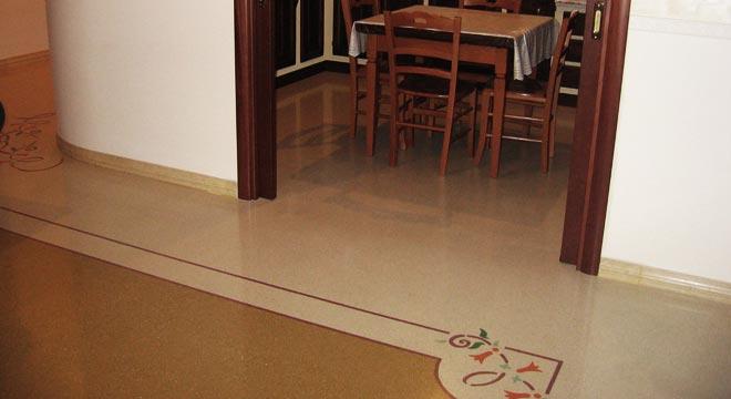 Arte del pavimento pavimenti alla veneziana decori for Veneziana pavimento